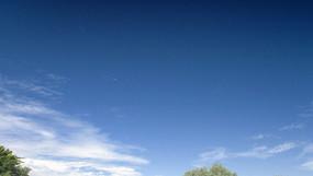 干净的天空