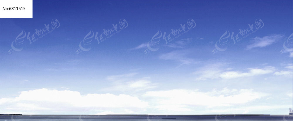 蓝白相间天空psd素材下载_手绘素材设计图片图片