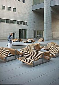 木制异形坐凳