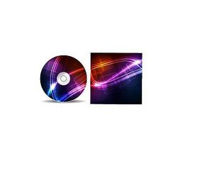 炫彩科技CD光盘包装盒 AI