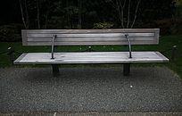 仿旧木质座椅