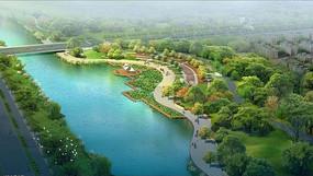 邻水公园设计意向图
