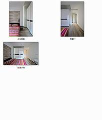 现代床头卧室效果图