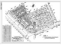 某小区规划总平面CAD