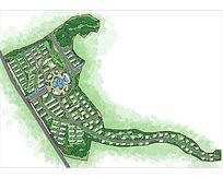湿地住宅景观图