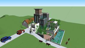 私家别墅建筑设计