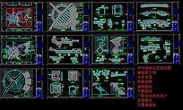 小广场全套施工图