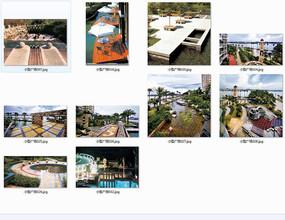 滨江小型广场景观意向图