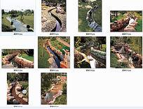 自然小溪景观