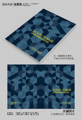 建筑大气画册封面设计 PSD