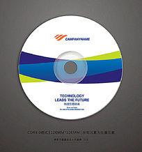 企业宣传视频光盘贴纸设计