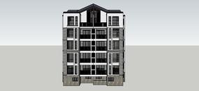 单体建筑模型