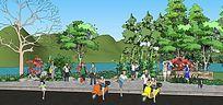 生态河道景观设计