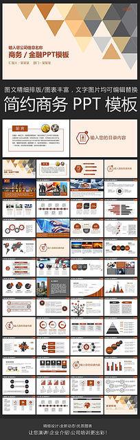 简洁实用项目介绍设计汇报提案ppt模板