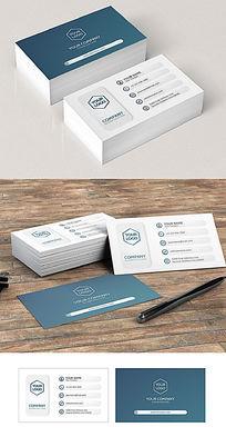 简约大气立体创意商务名片设计