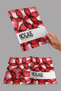 圆形花纹封面设计