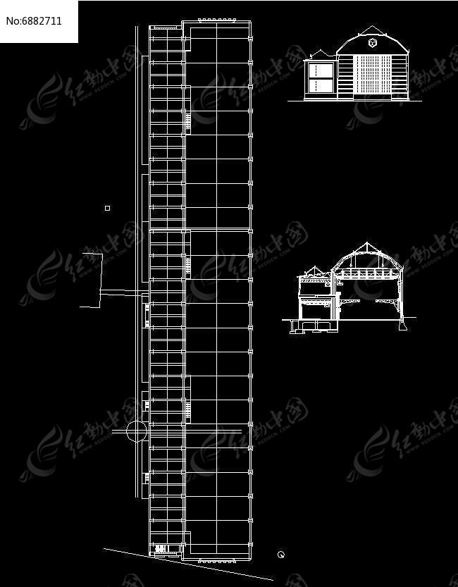 工厂素材下载_建筑套图设计图片