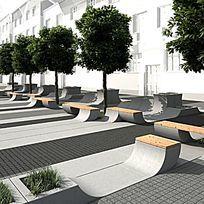 创意座椅树池设计
