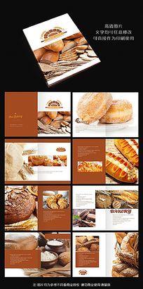 法式面包宣传画册