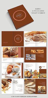 高档法式面包画册