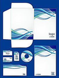 蓝色科技vi设计