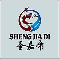 龙形大气logo