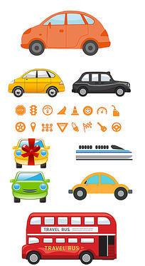 汽车卡通设计元素