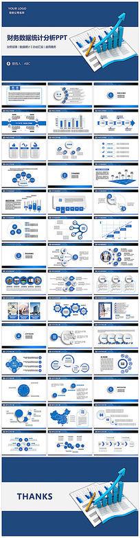 财务报告数据分析PPT设计 pptx