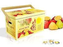 节日高端水果包装盒设计