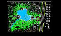 软件园临湖绿化平面