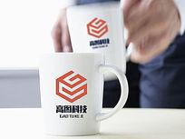 橘色科技logo