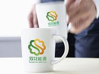 双色新能源logo