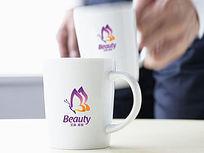 紫色梦幻美容logo