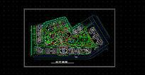 别墅景观规划总平面图