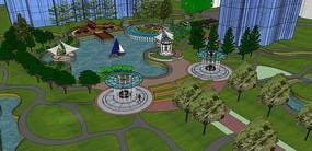 滨水公园景观设计