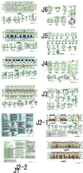 欧式别墅设计CAD图 dwg