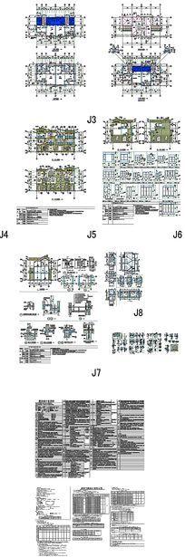 私家别墅住宅CAD图