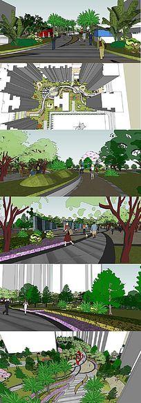 住宅小区景观设计