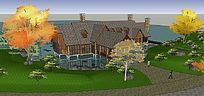 海景房度假别墅景观设计