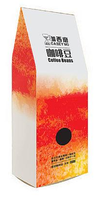 铝箔袋1磅454克装咖西磨意式咖啡豆立式包装设计