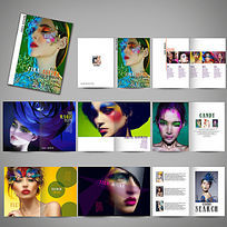时尚彩妆画册