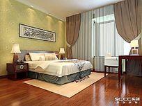 正商华钻-三居室-126平米-现代简约风格--卧室 其他