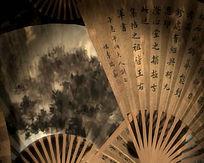 中国古风折扇艺术