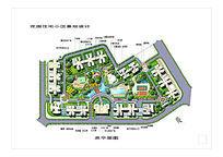 花园住宅小区景观设计平面图