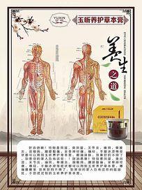养生产品海报