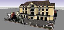 厂房大门和办公楼