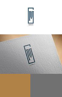 蓝色科技公司logo