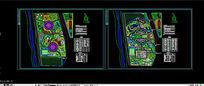 某渡假村绿化规划总平面图