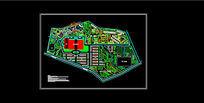 某农庄规划总平面图