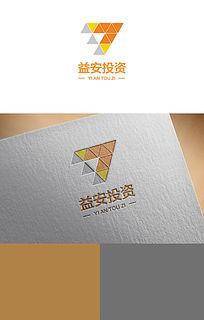 三角变形投资logo AI